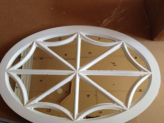 Oval Spider Web Window - Woodworking Project by David A Sylvester