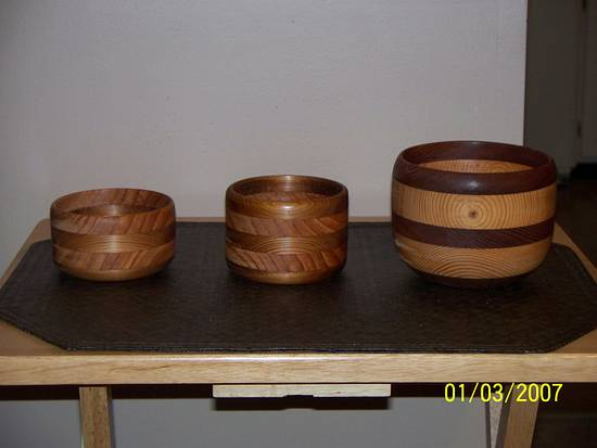 The Trio - Woodworking Project by Boyne Drover