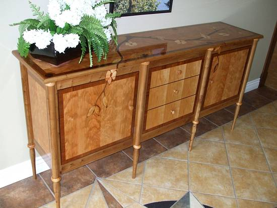 Dogwood Sideboard - Woodworking Project by shipwright
