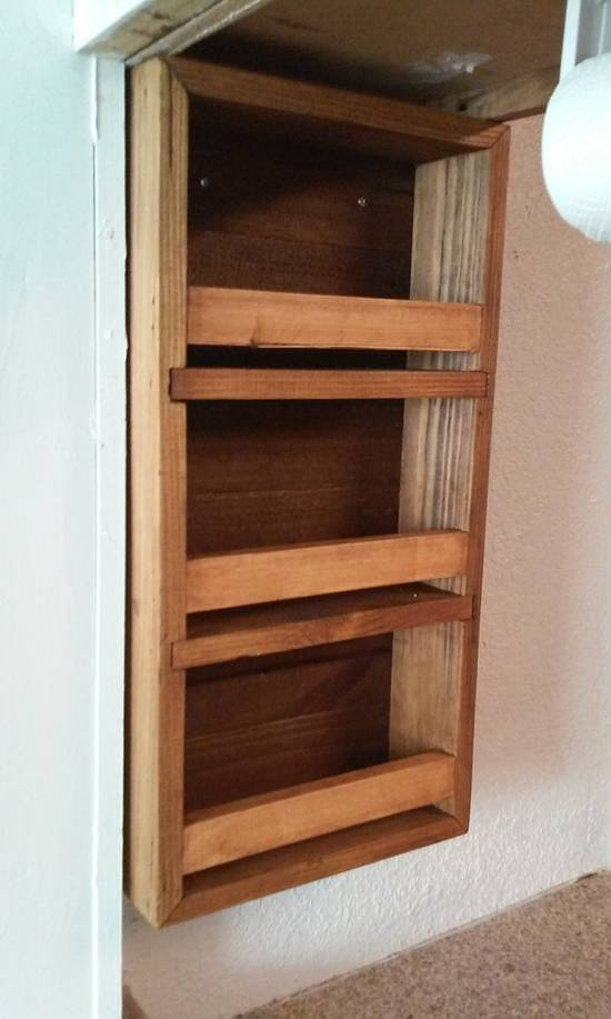 spice rack - Woodworking Project by Kevin