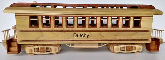 Classic train wagon - Woodworking Project by Dutchy