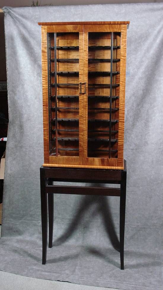 Custom Made Wood Chisel Cabinate - Woodworking Project by Don Fortin