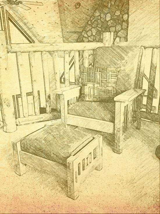 Morris Chair And Ottoman - Woodworking Project by Herbd