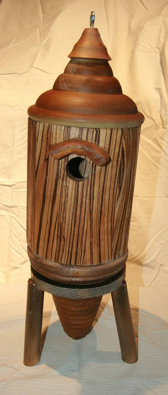 Birdhouse Madness - Woodworking Project by RRDesigns
