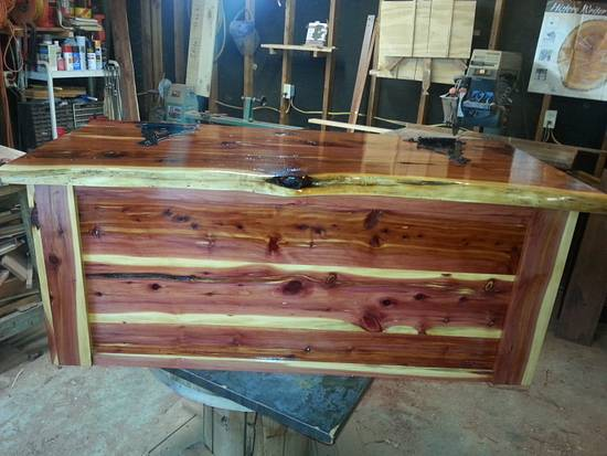 Cedar Chest - Woodworking Project by Cedar Furniture Lodge