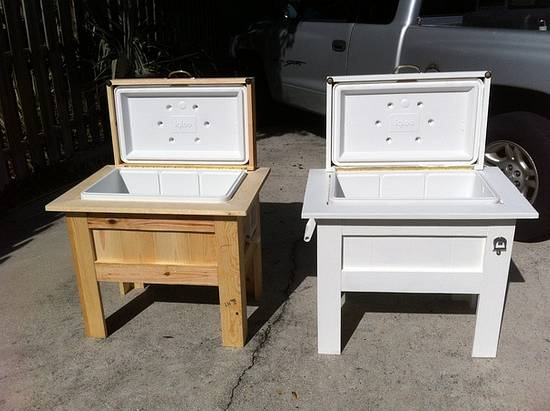 One cooler for each daughter - Woodworking Project by Angelo