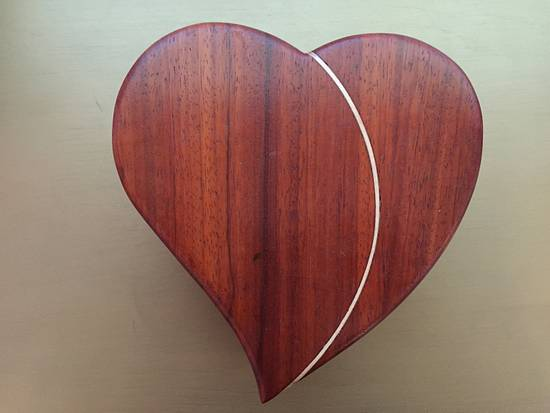 Heart Jewelry Box (for my Grand Daughter) - Woodworking Project by DLMcKirdy