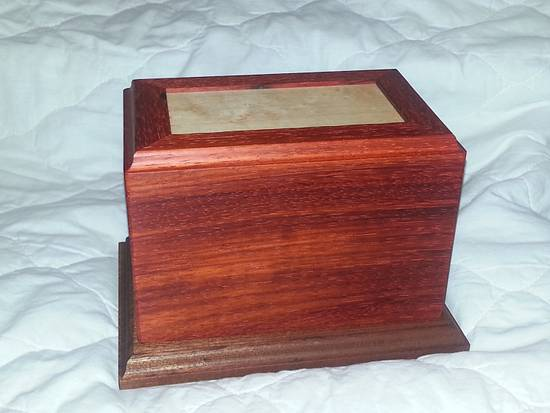Garden of Innocence Urn - Woodworking Project by David E.