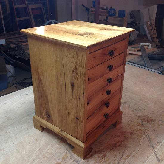 Small chest of drawers  - Woodworking Project by Victor sykes