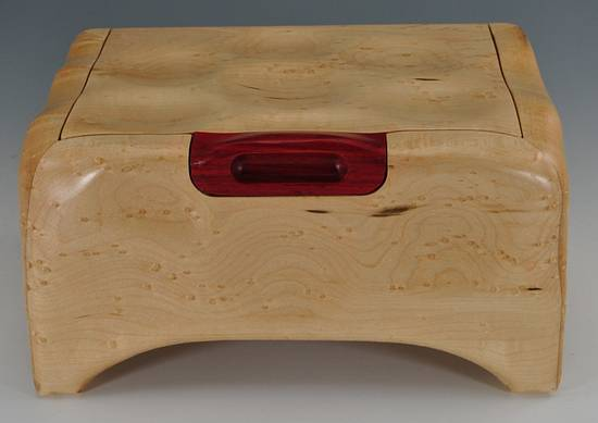 Birds Eye Maple Box - Woodworking Project by Greg