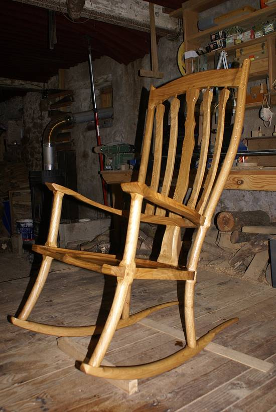 Rocking chair - Woodworking Project by william