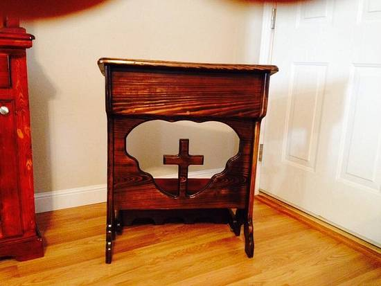 Prayer kneeler - Woodworking Project by Kelly Loupe