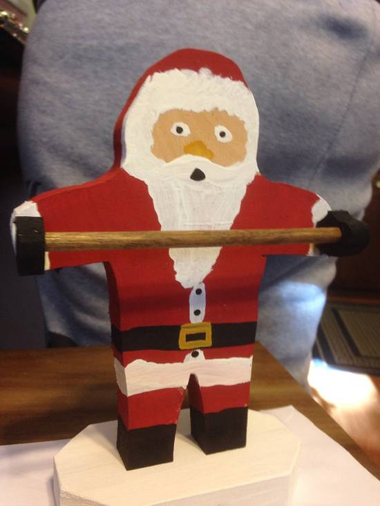 Candy Cane Holder - Woodworking Project by David A Sylvester