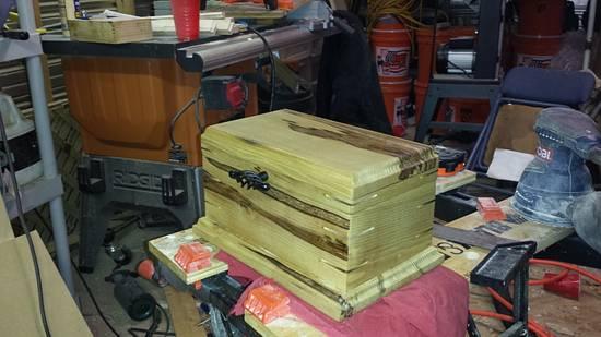 keepsake box - Woodworking Project by Jeff B