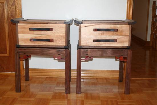 Night tables - Woodworking Project by OYAMASAN