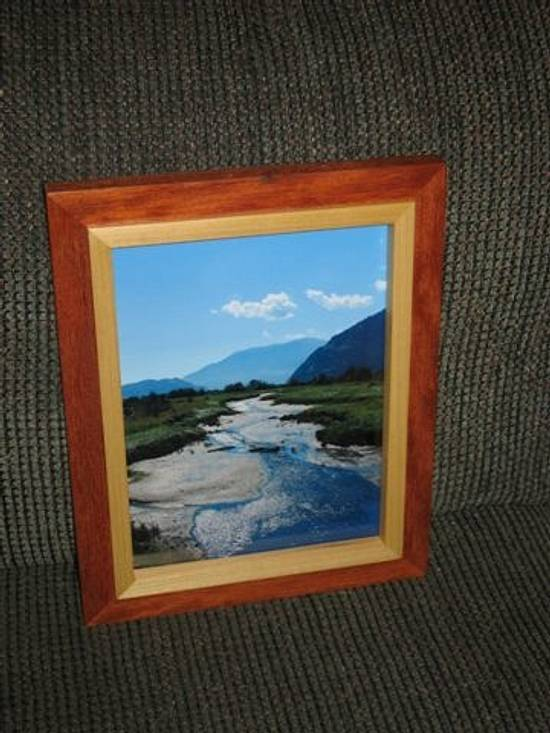 Picture Frame - Woodworking Project by Railway Junk Creations