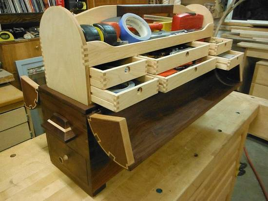 Toolbox 2.0 - Woodworking Project by John Self