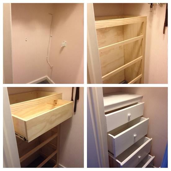 Built-in dresser - Woodworking Project by Dave Hebert/Hebert Home Solutions