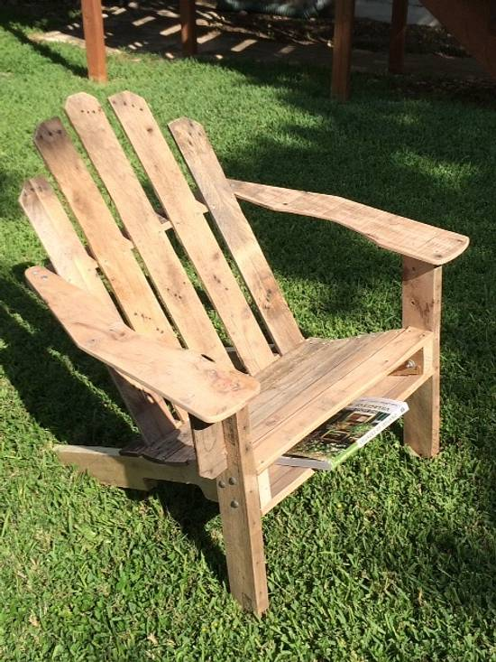 Pallet Adirondack Chair - Woodworking Project by Stephen Staha