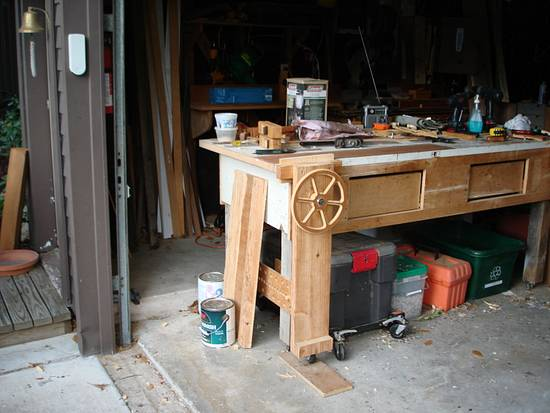 Leg vice - Woodworking Project by Madts