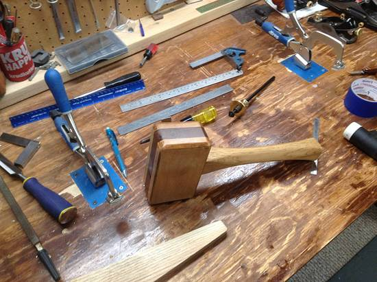 Mortising Mallet - Woodworking Project by delicatetouch