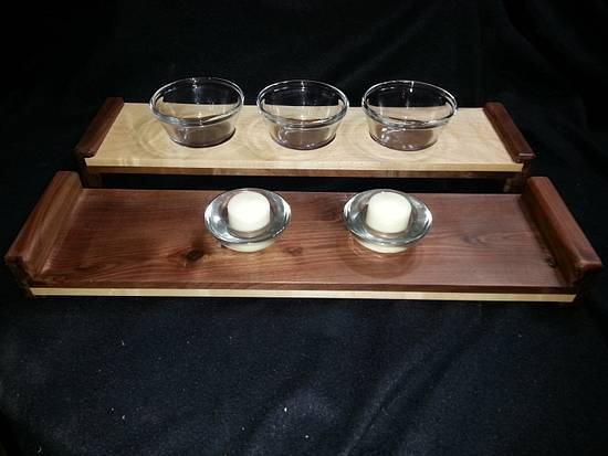 serving tray / candle tray - Woodworking Project by Jeff Vandenberg