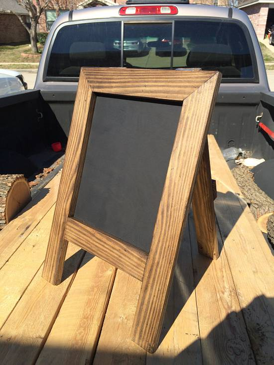 Mini chalkboard - Woodworking Project by TonyCan