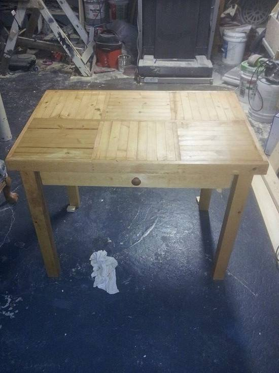 Desk - Woodworking Project by twigg