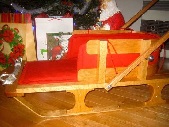 Old World Baby Sled w/video of build - Woodworking Project by Craftsman on the Lake