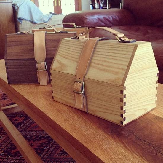 Lunch Box - Woodworking Project by David A Sylvester