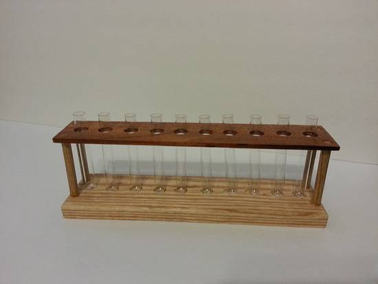 Test Tube Holder - Woodworking Project by David E.