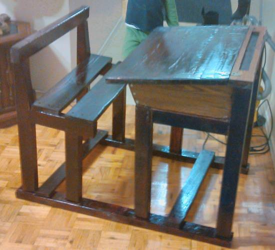 Pupitre d'ecolier - Woodworking Project by Montasser
