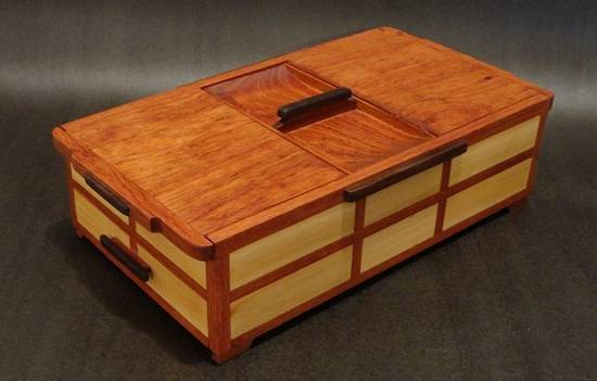 VALET-WING TOP BOX  - Woodworking Project by kiefer