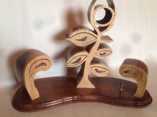 Flower bandsaw boxes  - Woodworking Project by bkwooddesigns