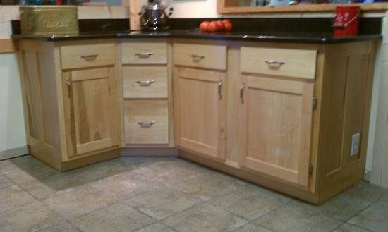 Kitchen cabinets - circa 2012 - Woodworking Project by David E.