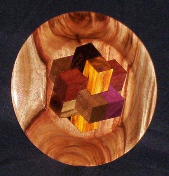 PLATTER ON FIRE - Woodworking Project by Sam Shakouri
