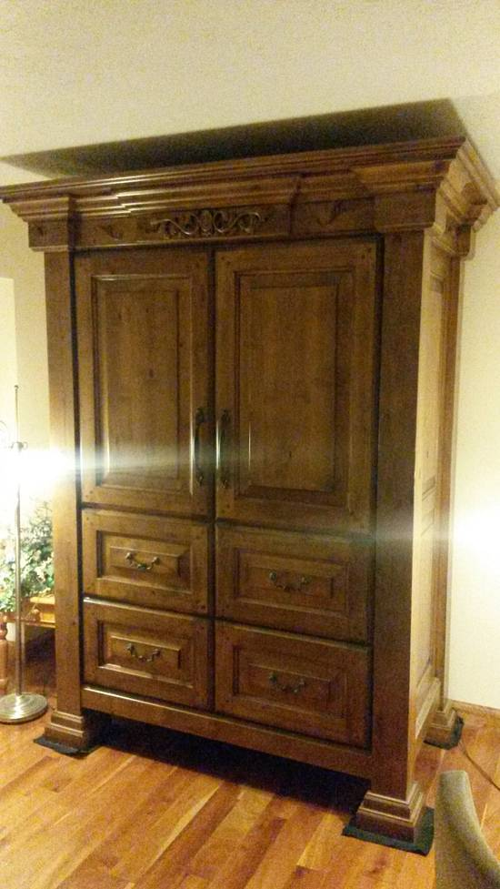 armoire - Woodworking Project by Timothy