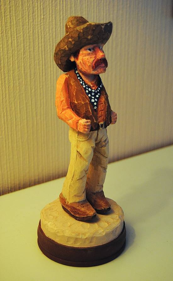 Four In One Cowboy Carving - Woodworking Project by Mike40