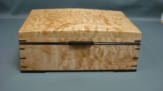Small Jewellery Box - Woodworking Project by Don Fortin