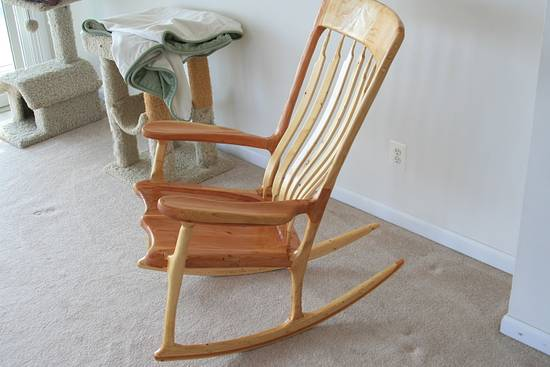 Rocking Chair - Woodworking Project by MJCD