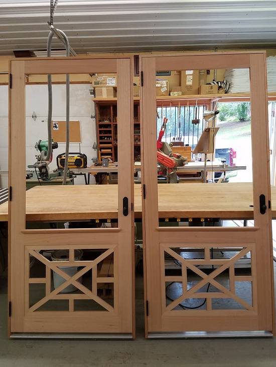 Spanish Cedar Screen Doors - Woodworking Project by Steve66