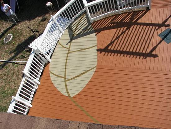 2 leaf deck - Woodworking Project by Angelo