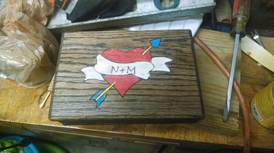 Wedding Ring box - Woodworking Project by BurninBush