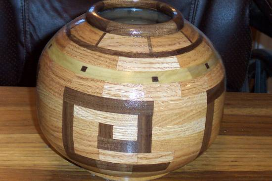 Vase - Woodworking Project by Wheaties  -  Bruce A Wheatcroft   ( BAW Woodworking)