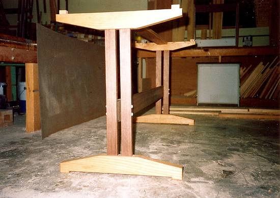 Trestle Dining Table - Woodworking Project by Xylonmetamorphoun