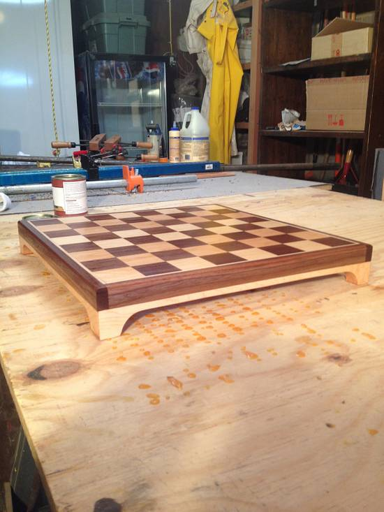 Chess Board - Woodworking Project by Hartman Woodworks