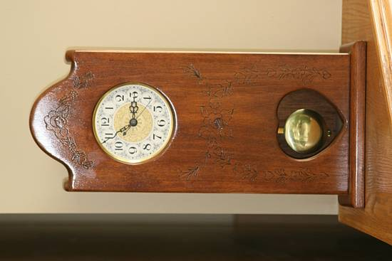 Mantle Clock - Woodworking Project by Railway Junk Creations