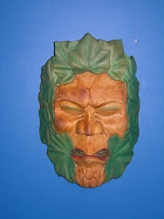 Greenman - Woodworking Project by Carver