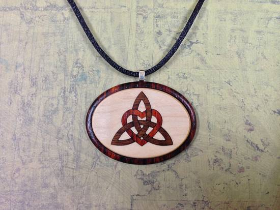 Inlay Necklace - Woodworking Project by Terry