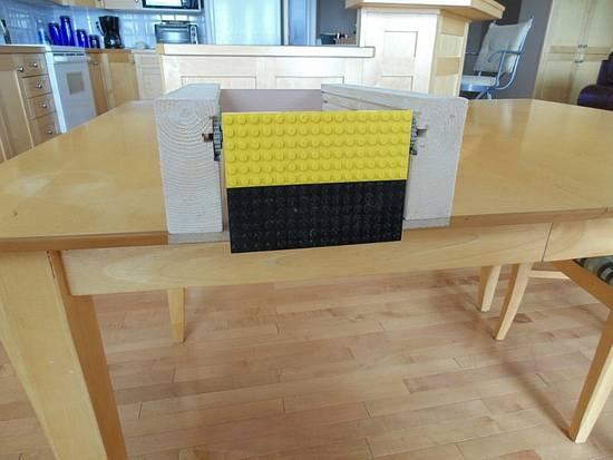 Barrister door mechanism model - Woodworking Project by kiefer